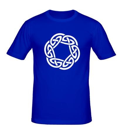 Мужская футболка Кельтское плетение