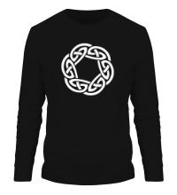 Мужской лонгслив Кельтское плетение