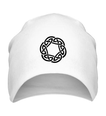 Шапка Кельтское плетение