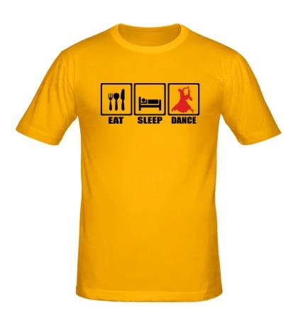 Мужская футболка Eat Sleep Latin