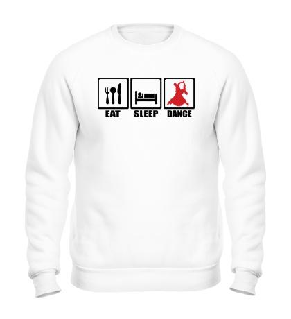 Свитшот Eat Sleep Latin
