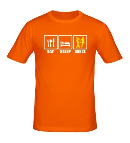 Мужская футболка Eat Sleep Tango