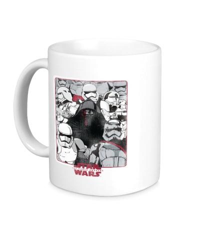 Керамическая кружка Армия Star Wars