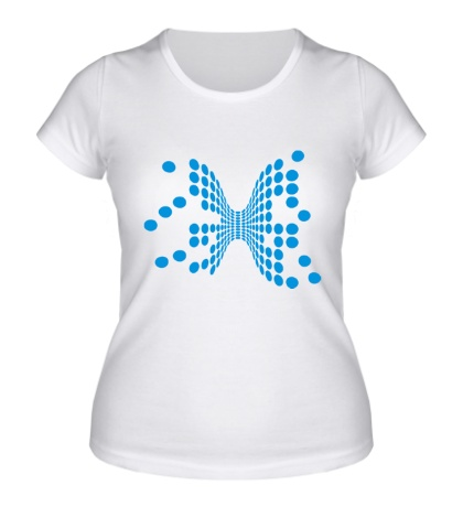 Женская футболка Объемные шарики