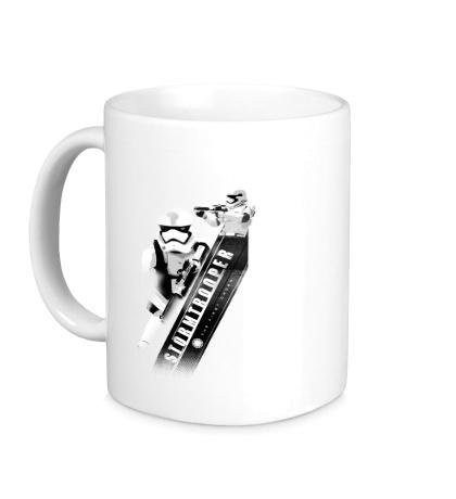 Керамическая кружка Angular Trooper