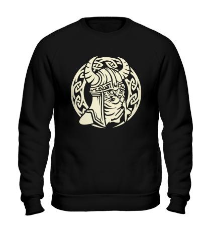 Свитшот Кельтский кот-викинг