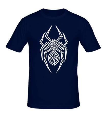 Мужская футболка Паук: кельтский узор