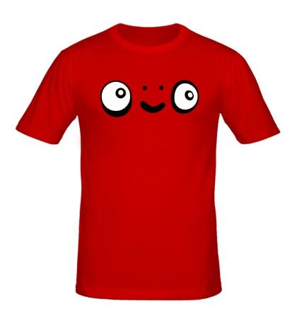 Мужская футболка Наивный взгляд