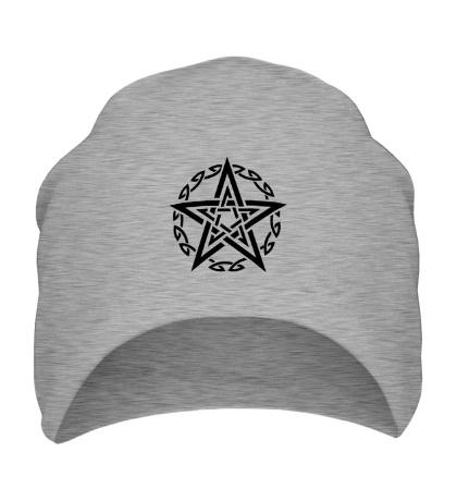 Шапка Звезда в кельтском круге