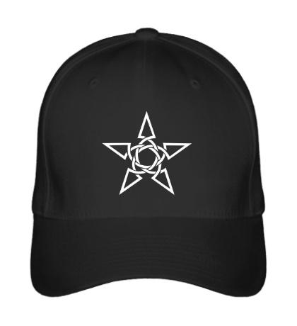 Бейсболка Кельтская тату-звезда