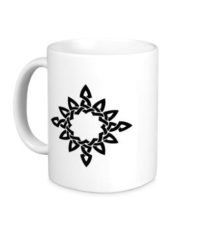 Керамическая кружка Кельтское тату
