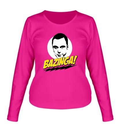 Женский лонгслив Bazinga: Шелдон
