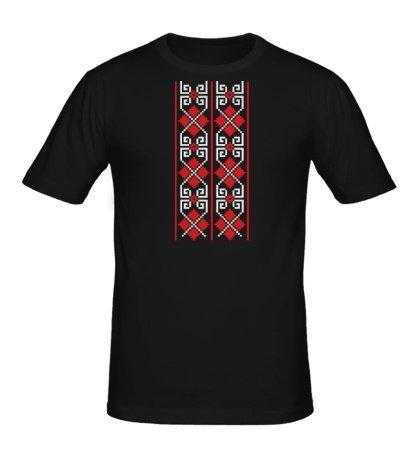 Мужская футболка Вышиванка: орнамент