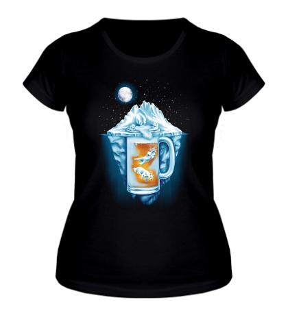 Женская футболка The Polar Beer