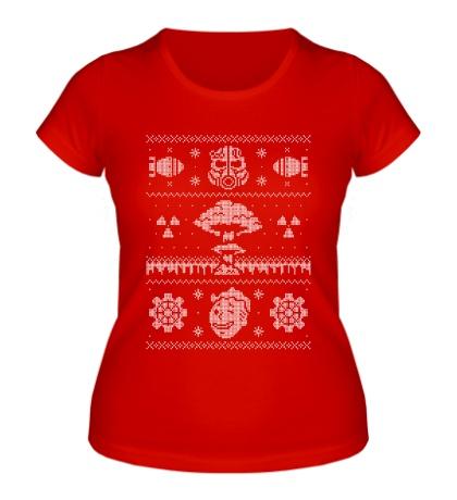 Женская футболка Ядерная зима