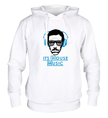 Толстовка с капюшоном Its house music