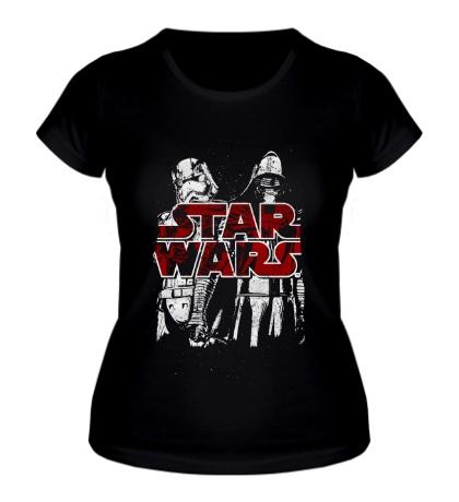 Женская футболка Kylo Ren & Phasma