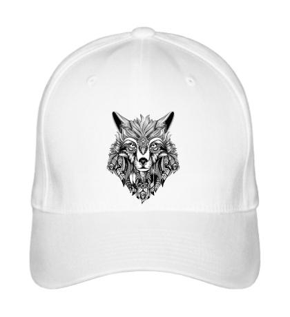 Бейсболка Индейский волк