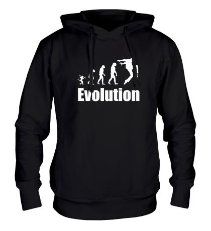 Толстовка с капюшоном Dance Evolution