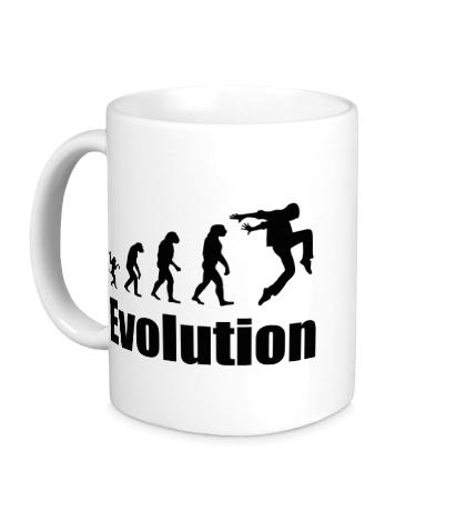 Керамическая кружка Dance Evolution