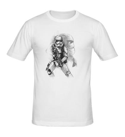 Мужская футболка Вооруженный штурмовик