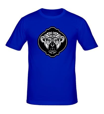 Мужская футболка Восточная обезьяна