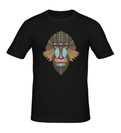 Мужская футболка Маска обезьяны