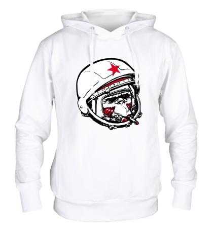 Толстовка с капюшоном Обезьяна-космонавт
