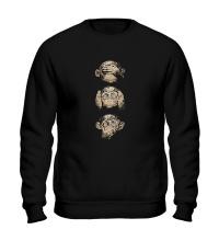 Свитшот Символ трех обезьян
