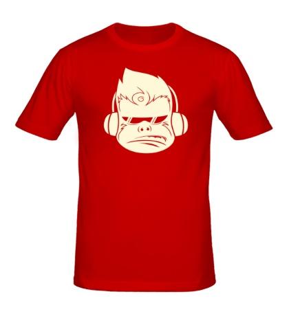 Мужская футболка Молодежная обезьяна