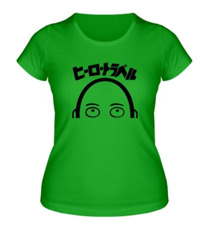 Женская футболка One-Punch Man
