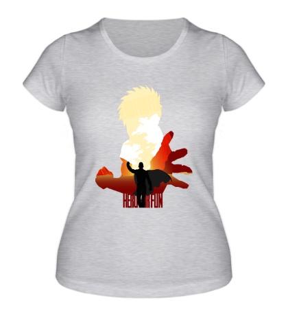 Женская футболка Обычный герой