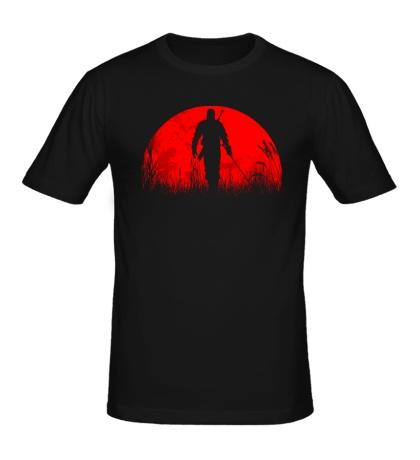 Мужская футболка The Witcher: Red Moon