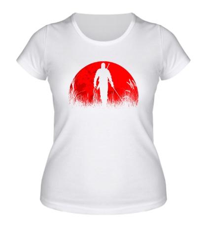 Женская футболка The Witcher: Red Moon