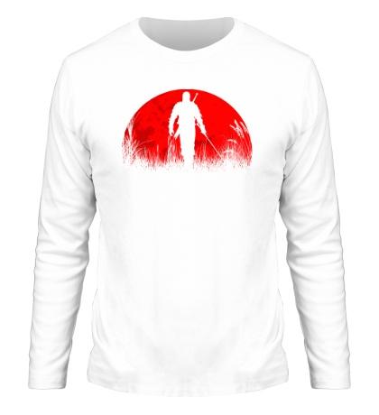 Мужской лонгслив The Witcher: Red Moon