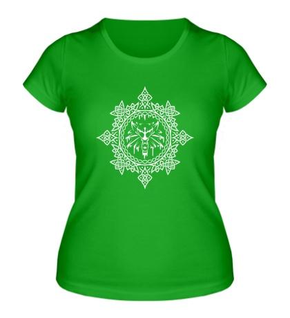 Женская футболка The Witcher Symbol