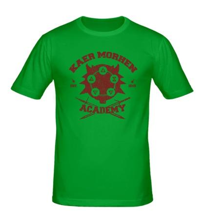 Мужская футболка Kaer Morhen Academy