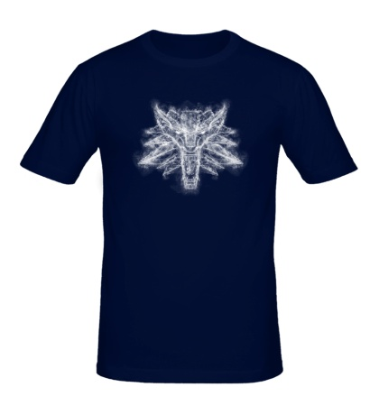 Мужская футболка The Smoky Wolf