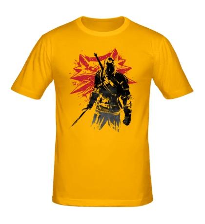 Мужская футболка The Witcher: Sumi-e
