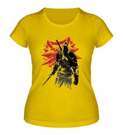 Женская футболка The Witcher: Sumi-e