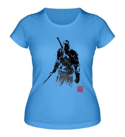 Женская футболка The Witcher
