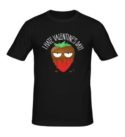 Мужская футболка I Hate Valentines Day