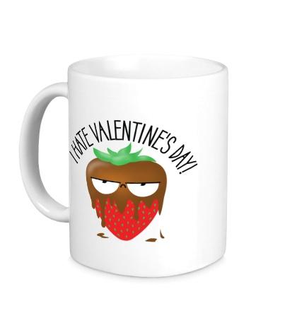 Керамическая кружка I Hate Valentines Day