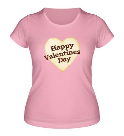 Женская футболка Valentine Day