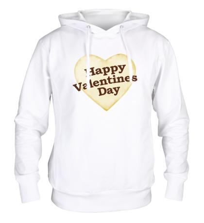 Толстовка с капюшоном Valentine Day