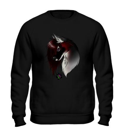 Свитшот Valentine Wolf