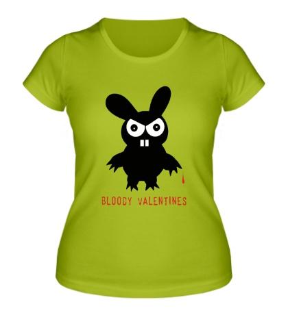Женская футболка Bloody Valentinees