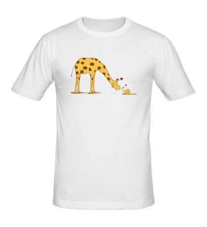 Мужская футболка Размер не имеет значения