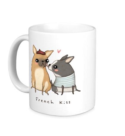 Керамическая кружка French Kiss