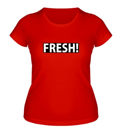 Женская футболка FRESH
